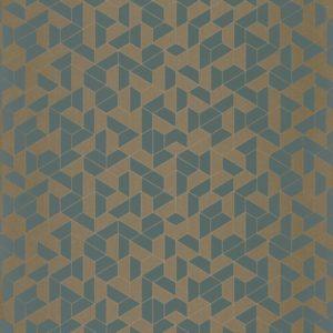 Papier peint Casamance Mosaic Vert de Gris