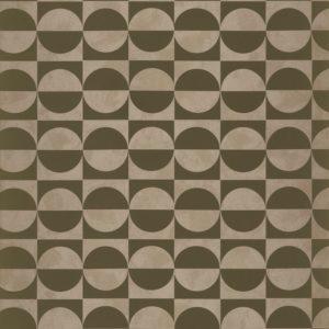 Papier peint Casamance Circles Kaki