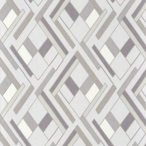 Papier peint Casamance Shapes Blanc